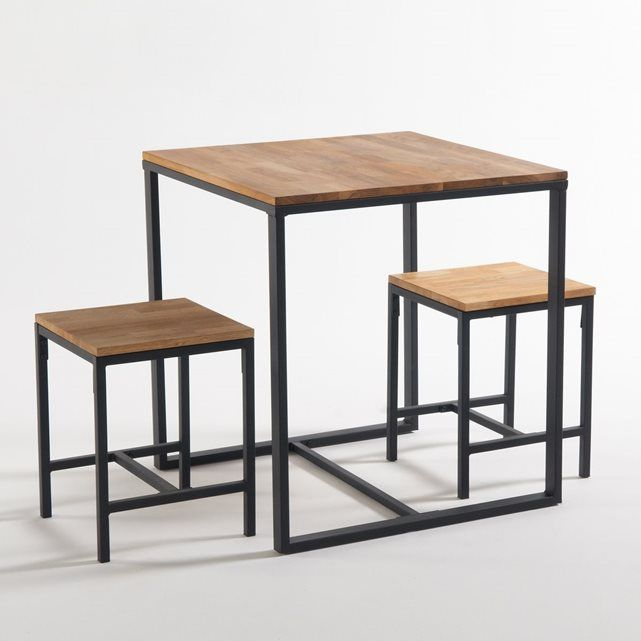 Table De Bistrot 2 Couverts Hiba Dining Room Table Table