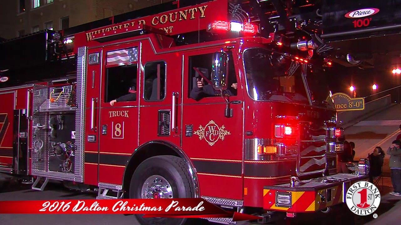 2016 Dalton Lions Club Downtown Dalton Christmas Parade