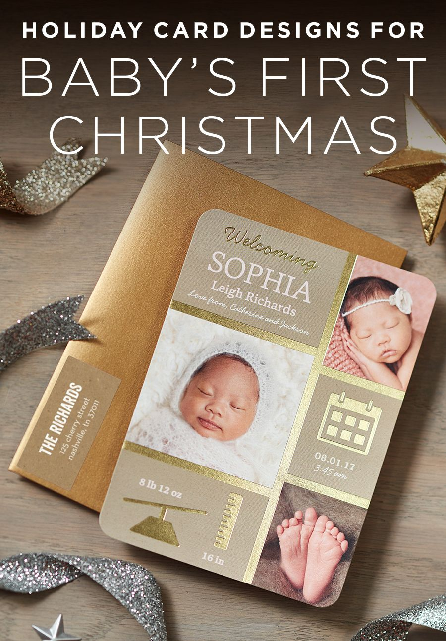 Share the greatest gift of all this year with a personalized birth share the greatest gift of all this year with a personalized birth announcement announcing babys first negle Image collections