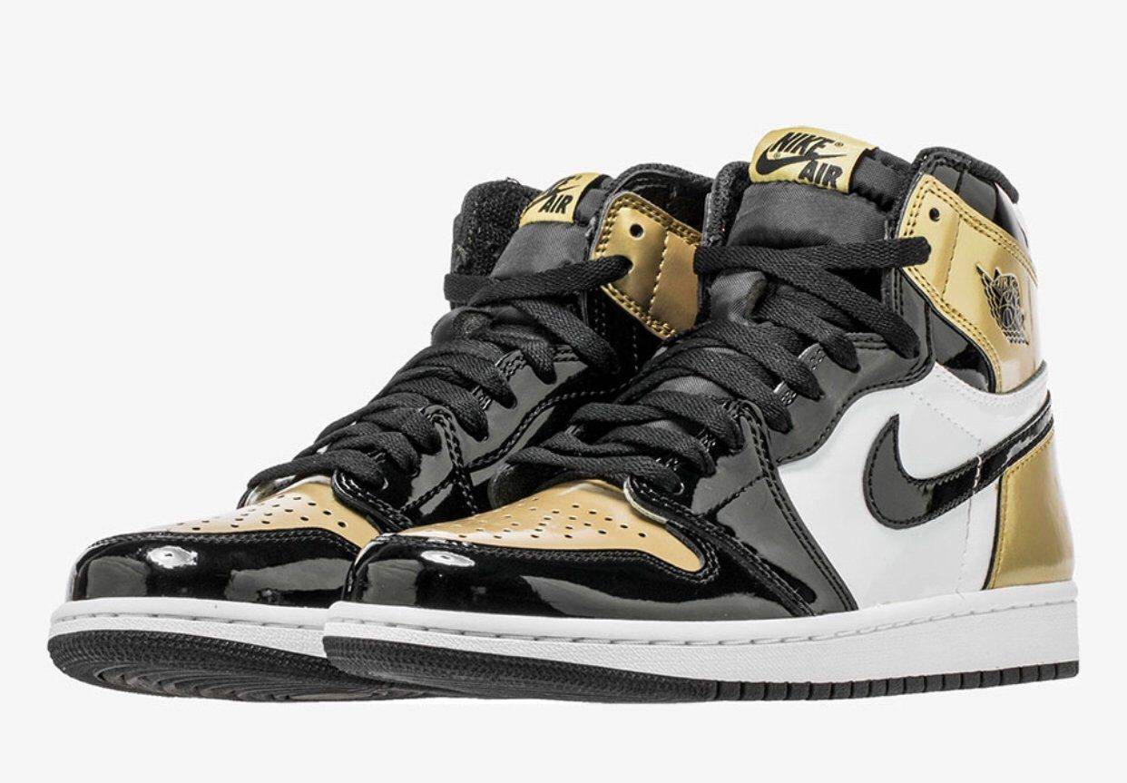 a7a27c37e821 Jordan 1s High OG NRG Gold Toe Gold White Black Once the Shoe releases the  shoe will be shipped to you with a tracking number.