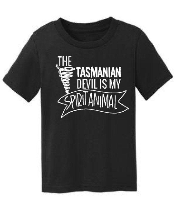 0c89ce66ab651e The Tasmanian Devil is My Spirit Animal Tee