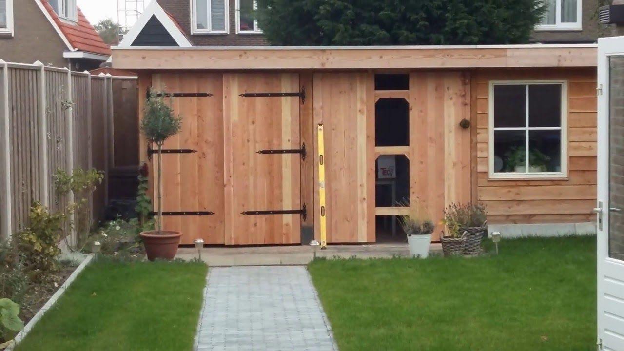 Deuren maken kun je zelf DIY shed doors gartenhaus tür