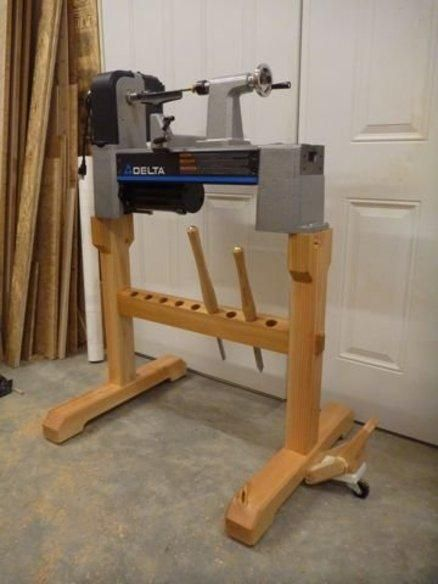 Make Lathe Stand Pdf Plans 3d Timber Figure Patterns Free