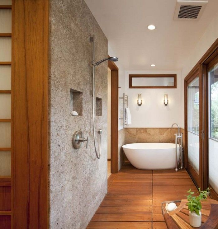 Contemporary Japanese Soaking Tub Design Ideas For Your Bathroom for ...