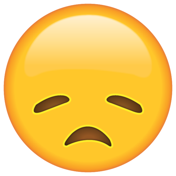 Disappointed Face Emoji Emoji Emoji Pictures Drawings Of Friends
