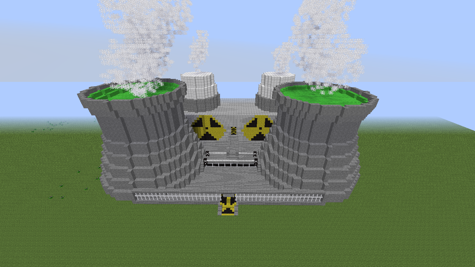nuclear power plant thingy awesome minecraft pinterest rh pinterest com au Nuclear Reactor Schematic Nuclear Fission Power Plant