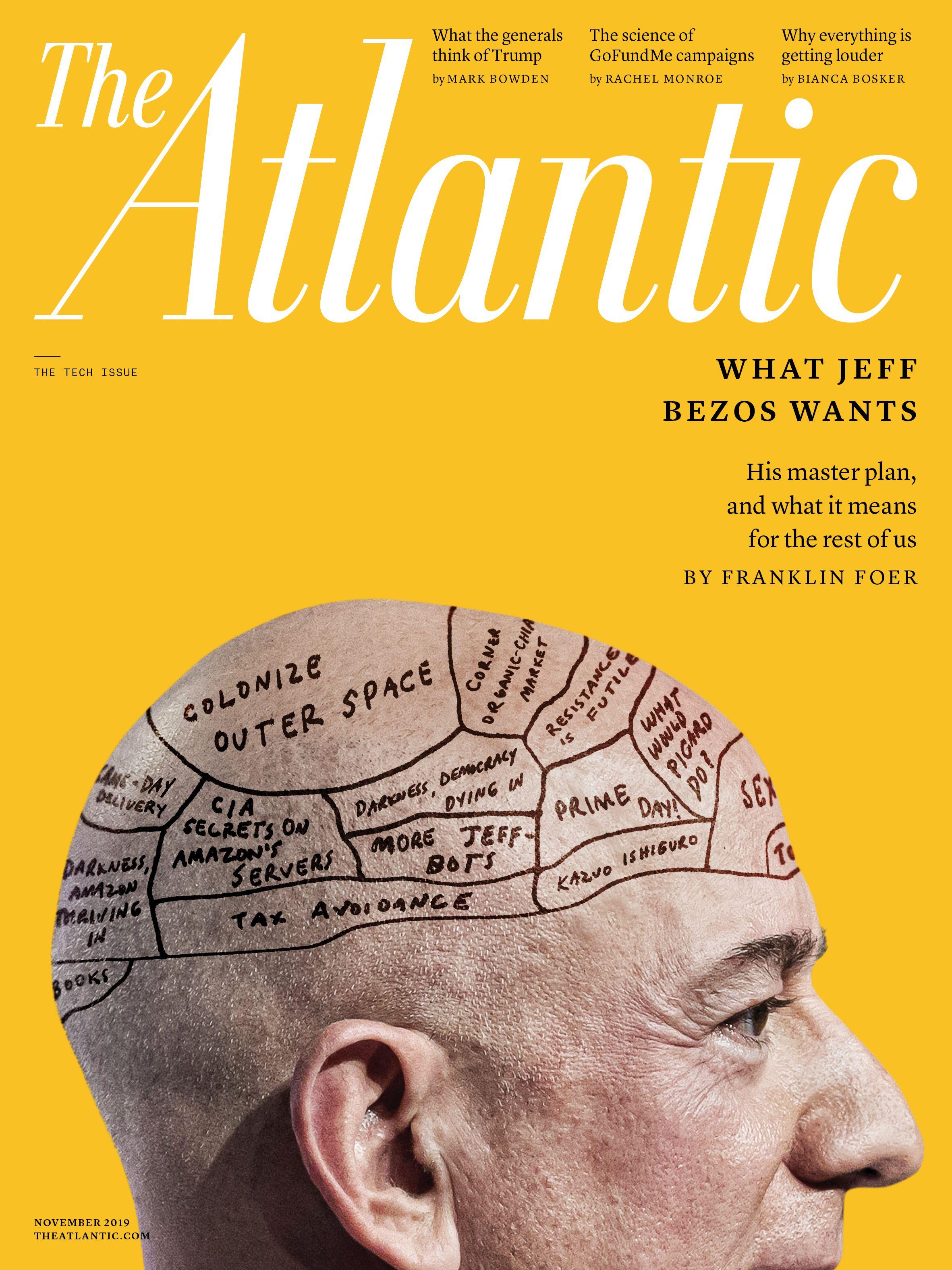 Jeff Bezos S Master Plan Magazine Modest Proposal Atlas