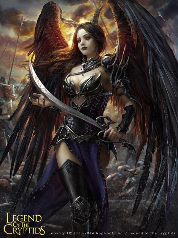 Legend of the Cryptids - Amarie by Laura Sava, via Behance
