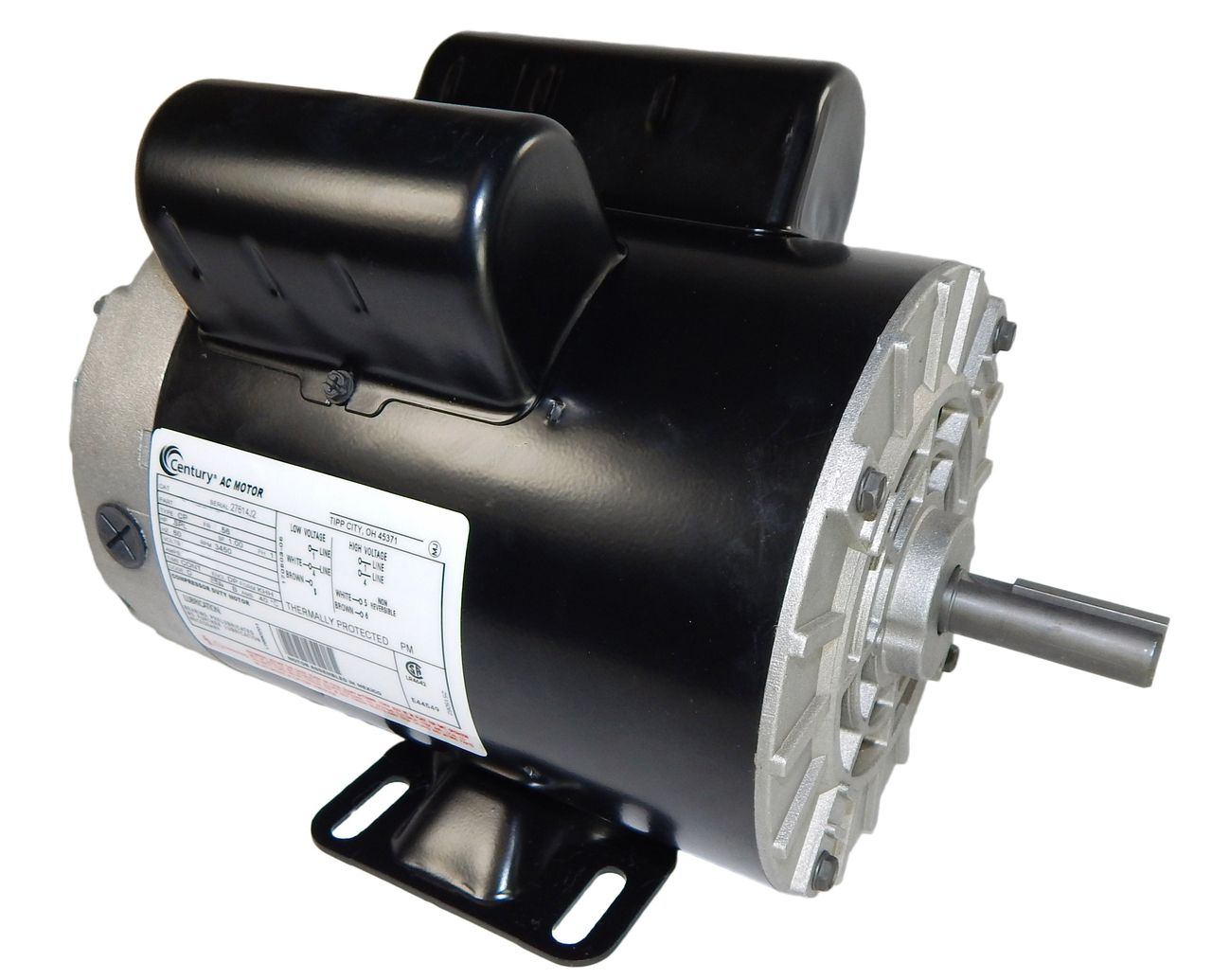 2 HP SPL 3450 RPM M56 Frame 115/230V Air Compressor Motor
