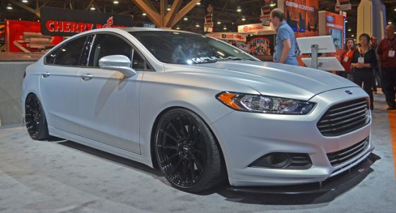 400hp Ford Fusion Revealed At Sema Ford Fusion Ford Fusion Custom Ford