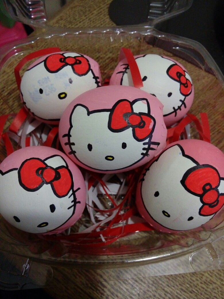 #huevos #pascua #kitty