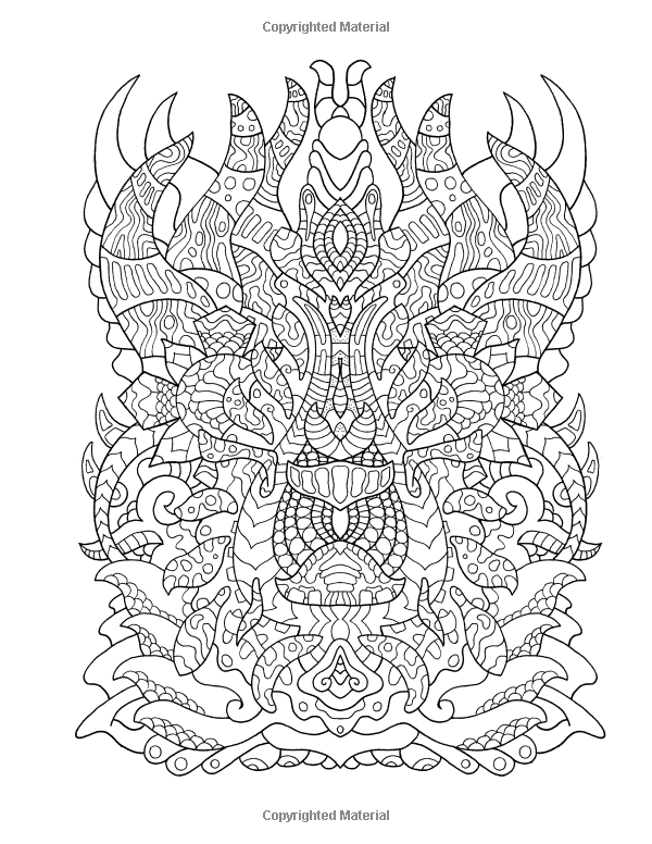 Amazon.com: High Visions - Psychedelic Coloring Book ...