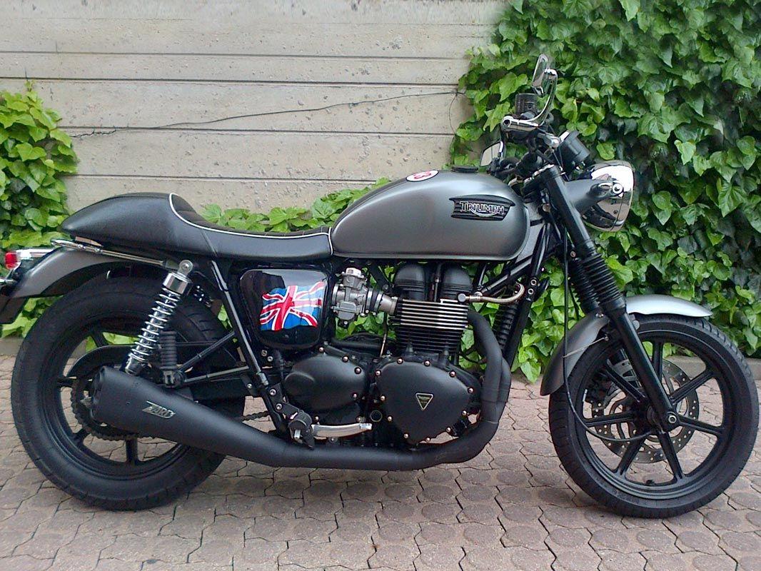 triumph bonneville cafe racer 865 cc 2011 motorcycles for sale. Black Bedroom Furniture Sets. Home Design Ideas