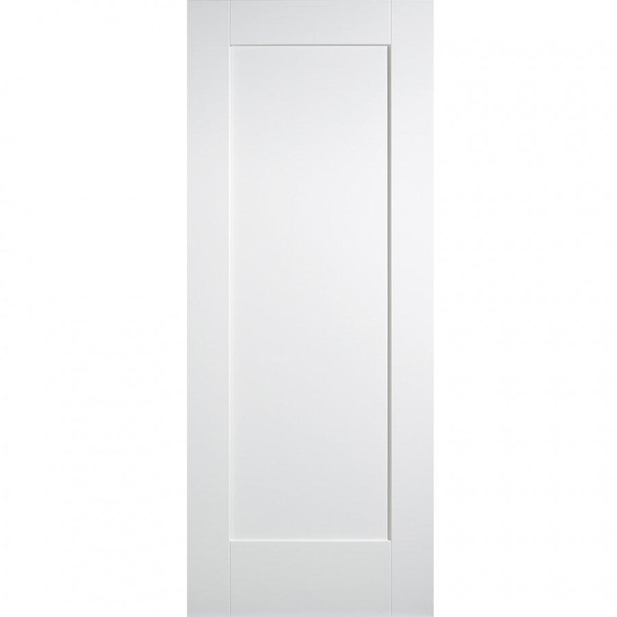 Lpd Internal White Primed Shaker 1 Panelled Door Door Superstore In 2020 Internal Doors White Internal Doors Panel Doors