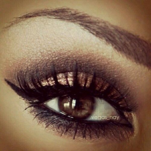Creative Eye Makeup Ideas For Brown Eyes | Eye Makeup Ideas ...
