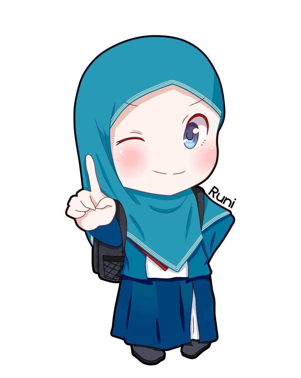 Gambar Wallpaper Kartun Perempuan Gambar Kartun Anak Perempuan Muslimah U2013 Blog Teraktual In 2020 Islamic Cartoon Anime Muslim Hijab Cartoon