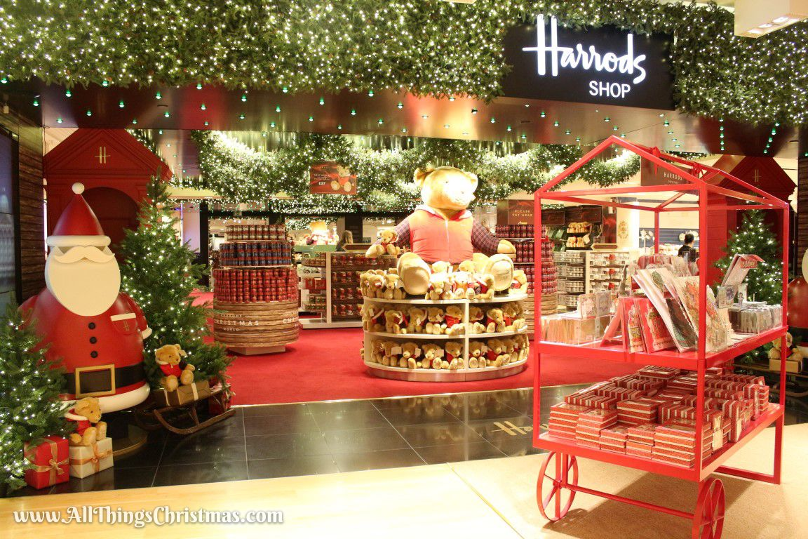 Around The World Decoration Ideas Harrods Christmas World On Allthings Christmas Christmas In