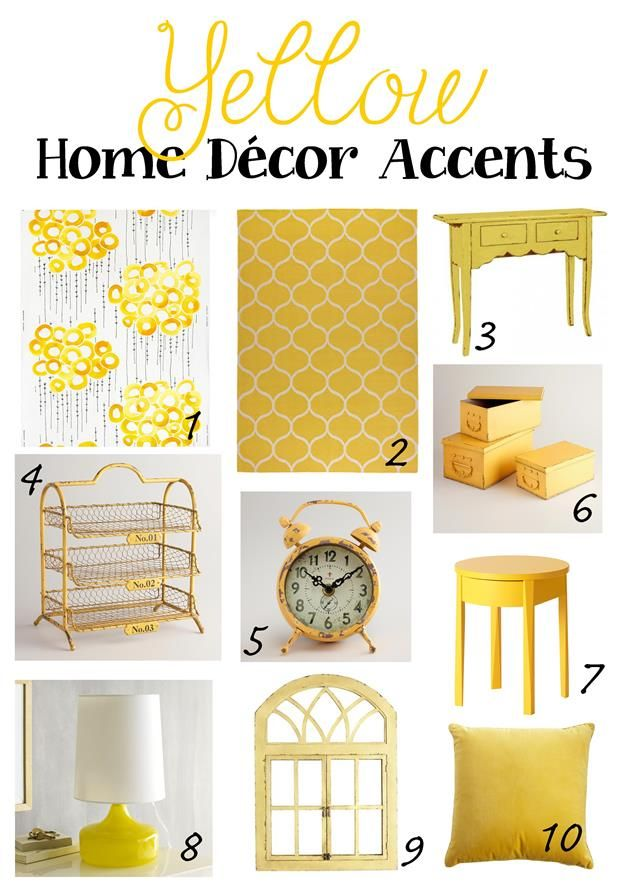 Yellow Home Decor Yay Or Nay