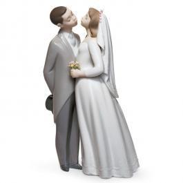 Wedding Couple Lladro Porcelain
