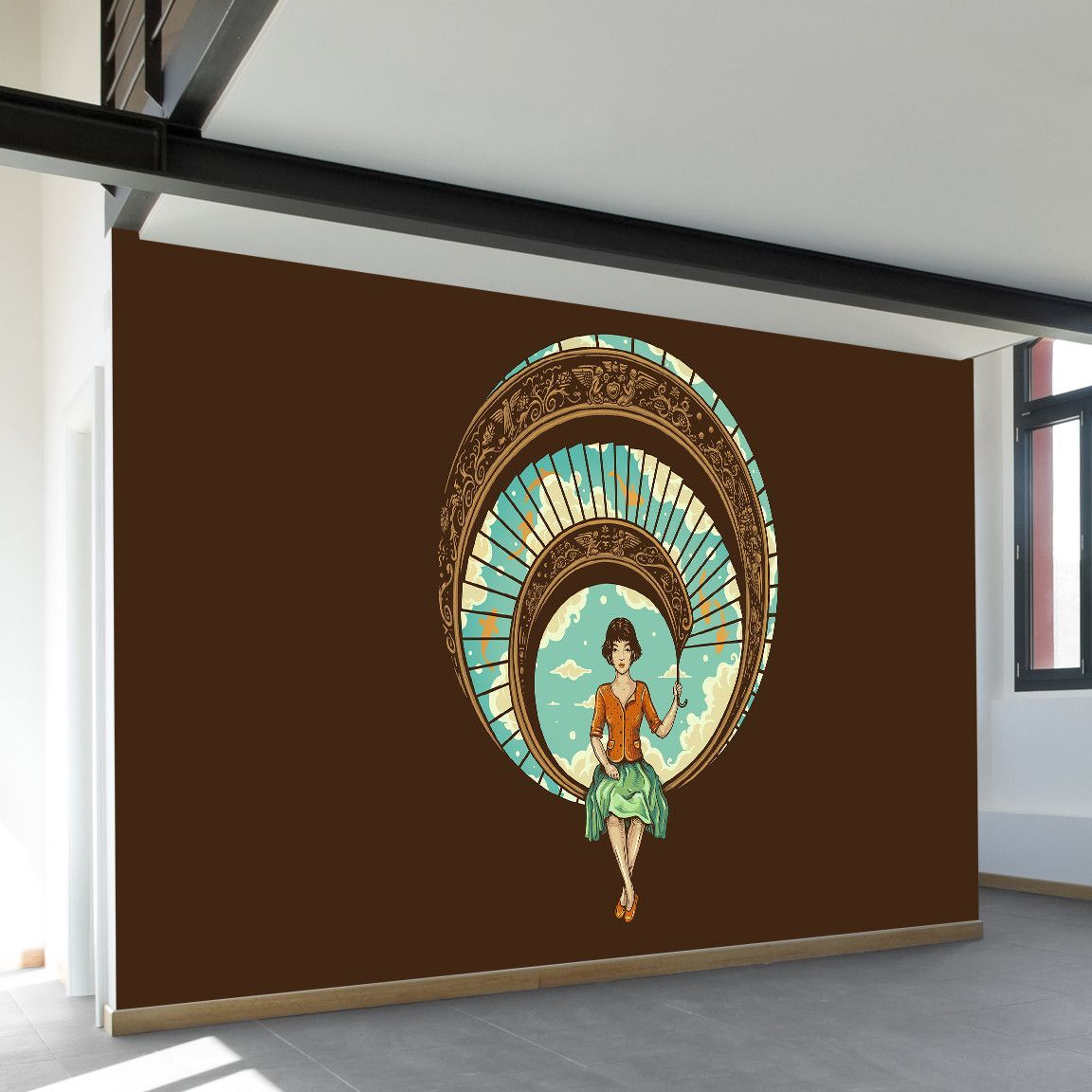 welcome to my world wall mural wall murals museum of on poster my wall id=92983