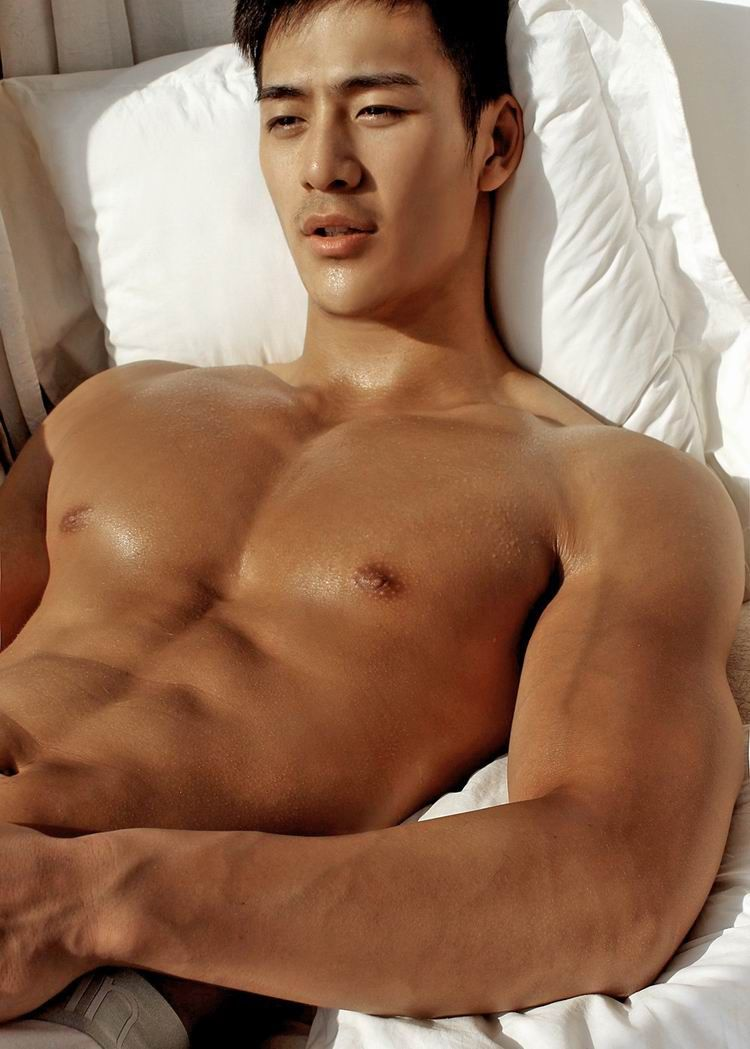 asian naked male model