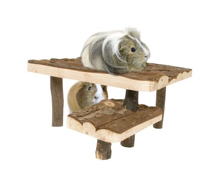 unterstand mit treppe f r meerschweinchen kleintiere. Black Bedroom Furniture Sets. Home Design Ideas