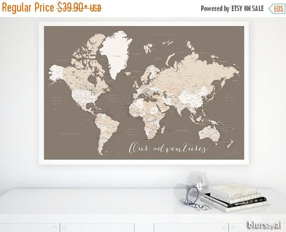 Custom quote color size printable world map by blursbyaishop custom quote color size printable world map by blursbyaishop gumiabroncs