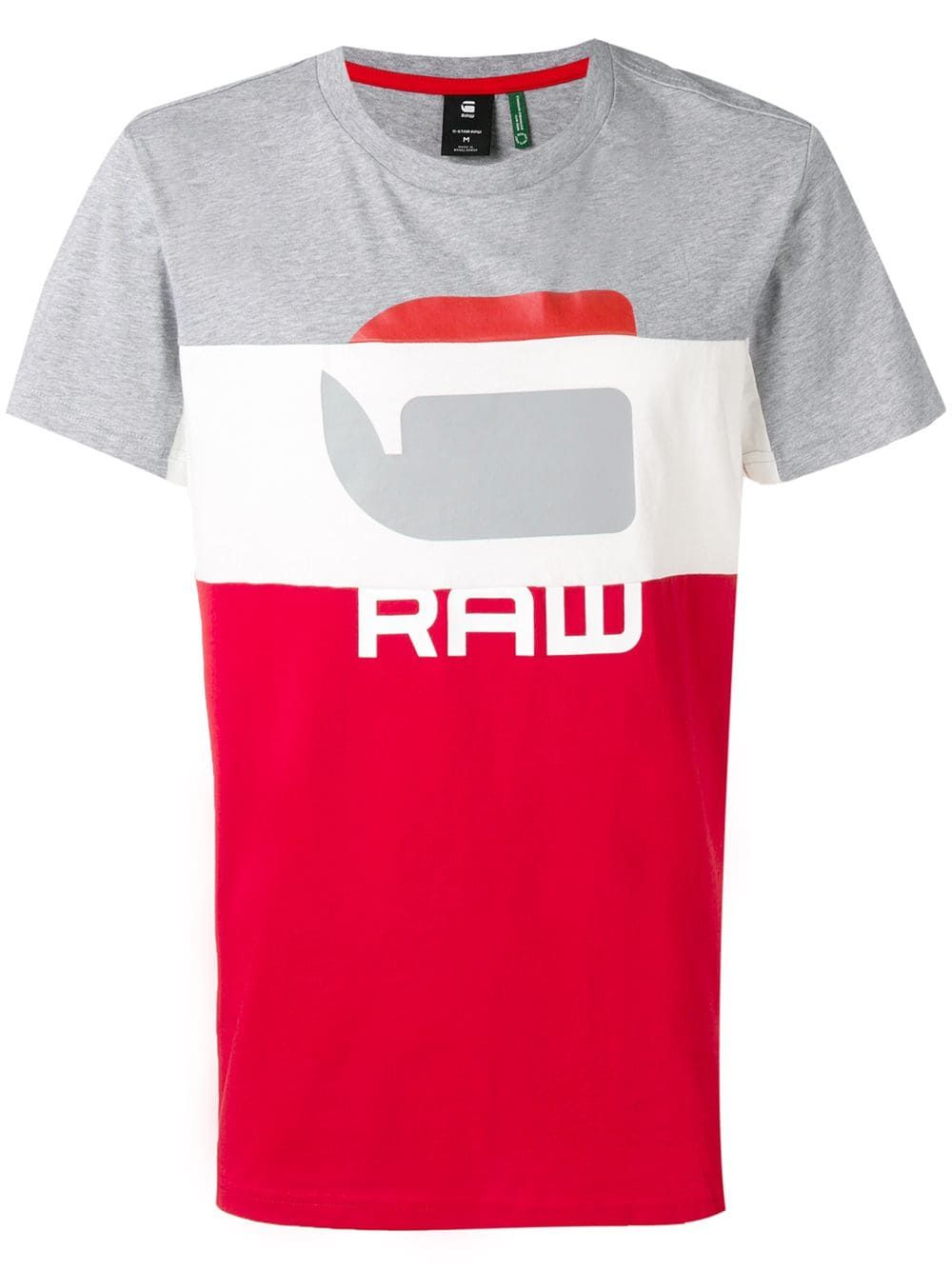 Regular Fit Flame Red G-Star Raw 09 R s//s Crew Neck T-Shirt