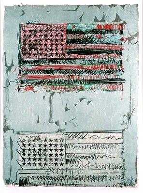 Jasper Johns Will Be The Summer Feature At The Phillips Collection Jasper Johns Flag Art Jasper Jones