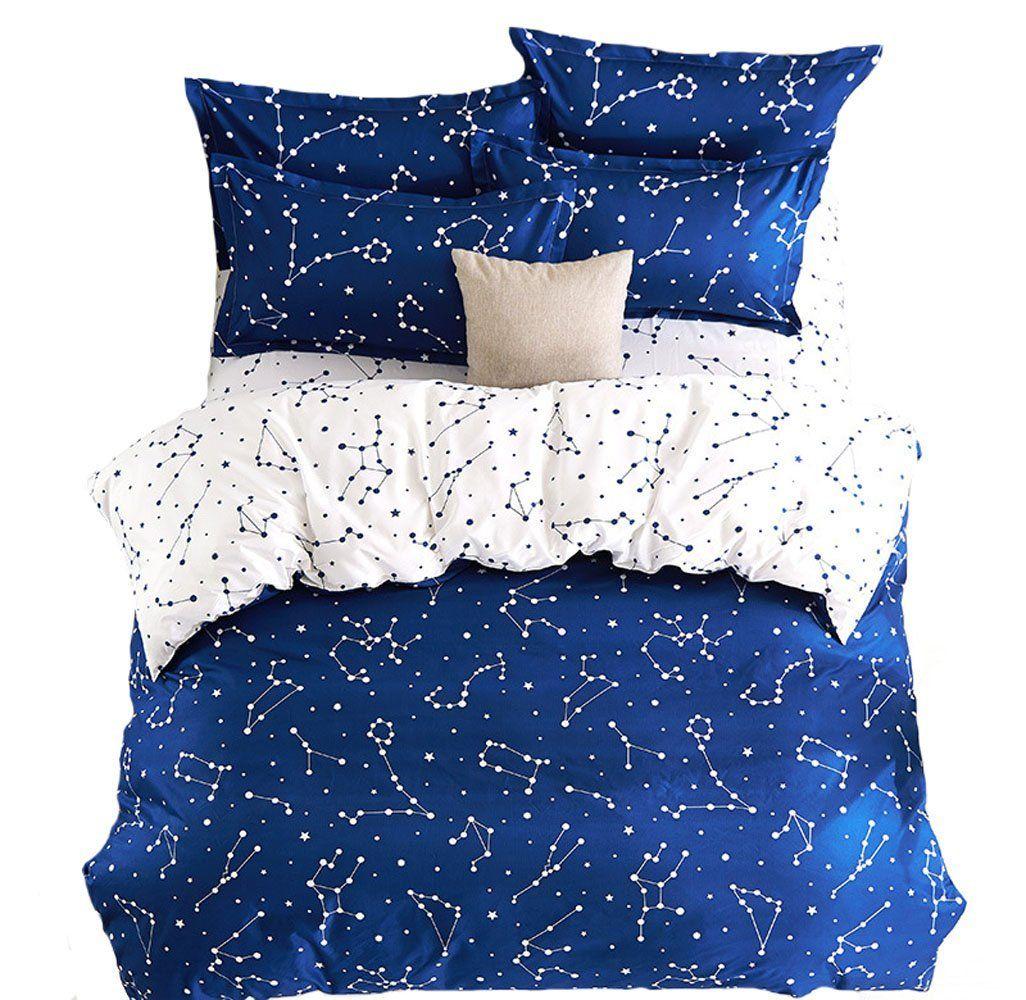 Mumgo home textile bedding sets cotton u microfiber for adultblue