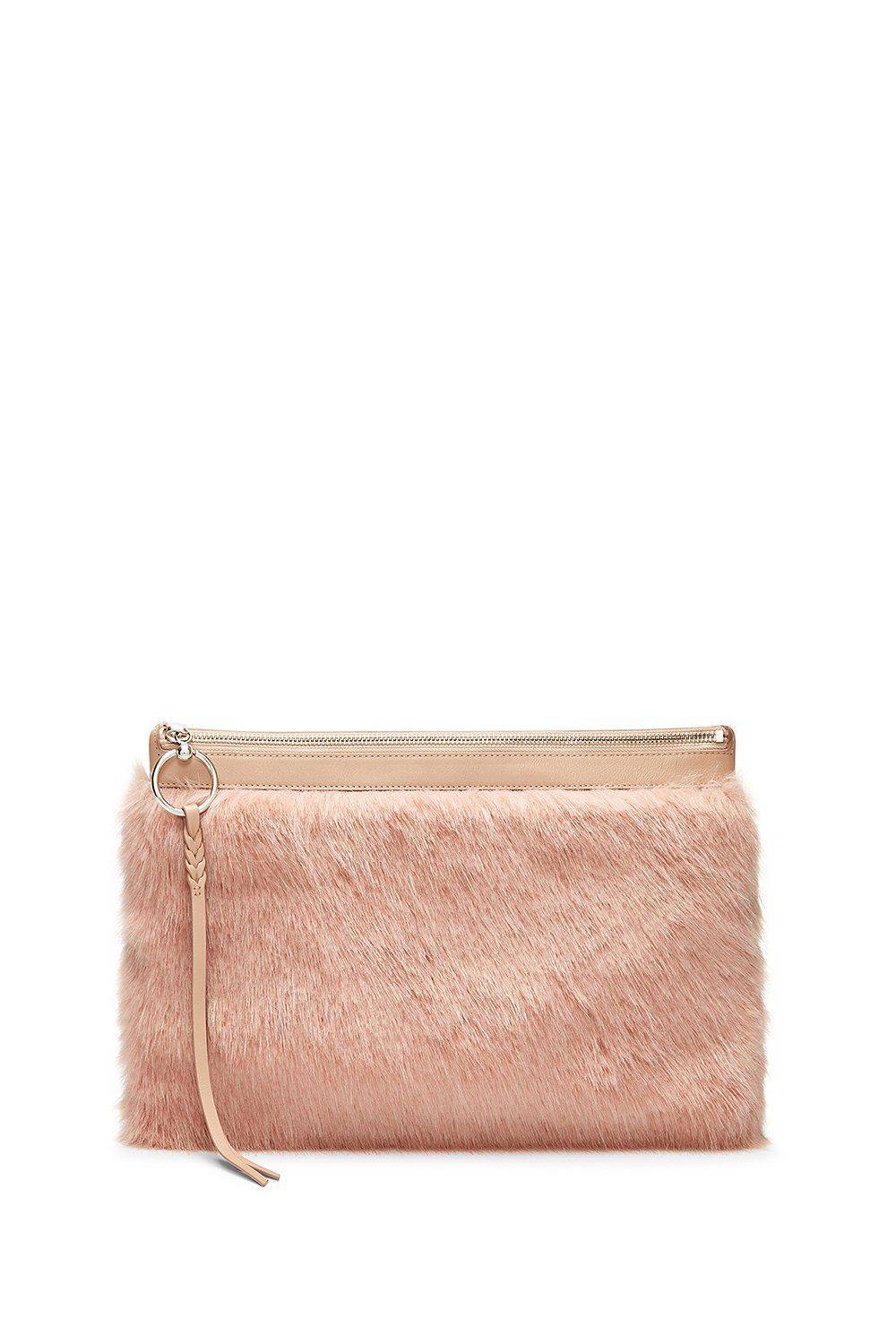 Luxury Cowhide And Leather Clutch Bag Essential Accessories For 2019