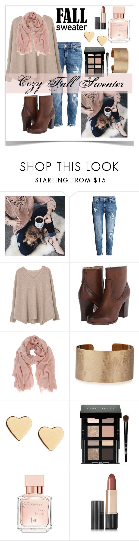 """Cozy Fall Sweater"" by arimagedesign ❤ liked on Polyvore featuring Chicwish, H&M, MANGO, Frye, Mint Velvet, Panacea, Lipsy, Bobbi Brown Cosmetics, Maison Francis Kurkdjian and Estée Lauder"