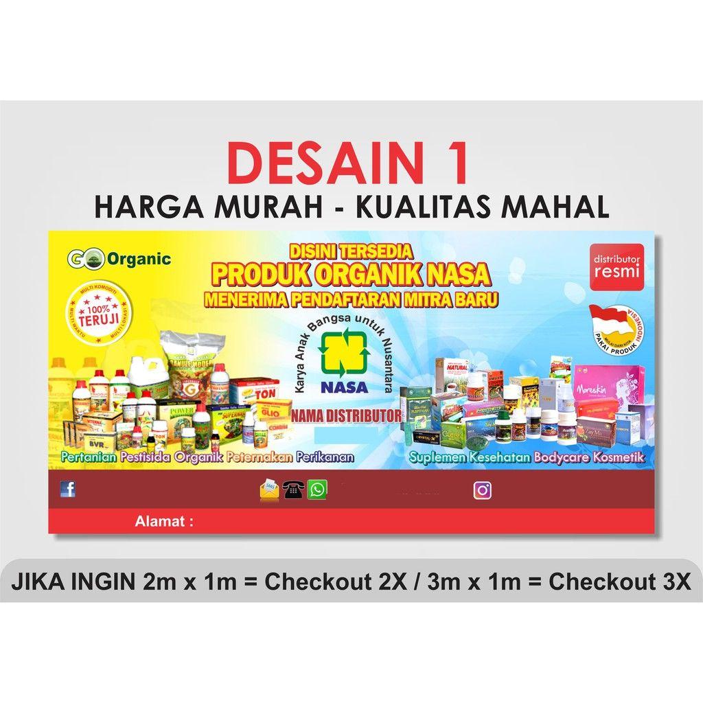 Banner Distributor Natural Nusantara Nasa Flexy Korea Sho Best Banner Design Banner Design Best Banner