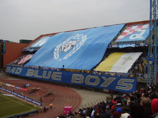 Zagreb Croatia Home Of Bad Blue Boys Supporters Group Zagreb Croatia Zagreb Croatia