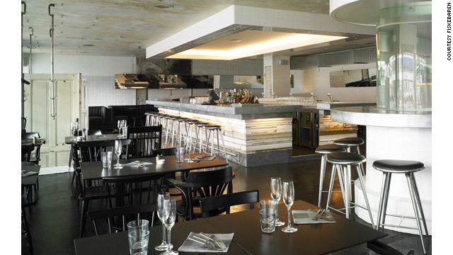 industrial restaurant design | Stripped industrial chic characterizes the interior of Copenhagen's ...
