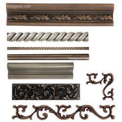 metal tile trim border tiles