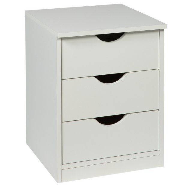 Argos Childrens Table And Chairs White: Buy Argos Home Pagnell White Bedside Chest