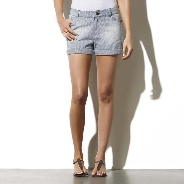 High waisted denim shorts kmart