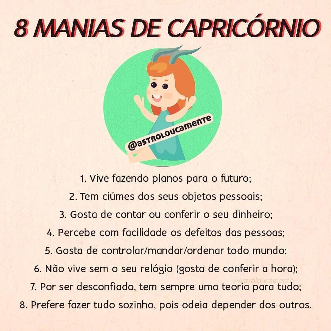 8 Manias Do Signo De Capricornio E So Quem E Capricorniano Sabe