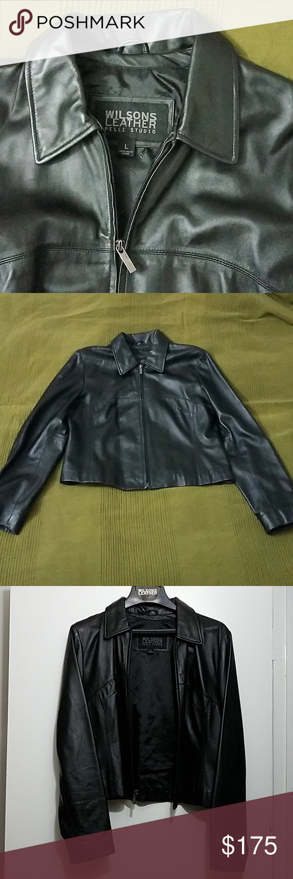 New Wilsons Leather Pelle Studio Jacket Wilsons leather