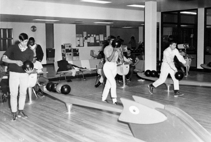 The old bowling alley