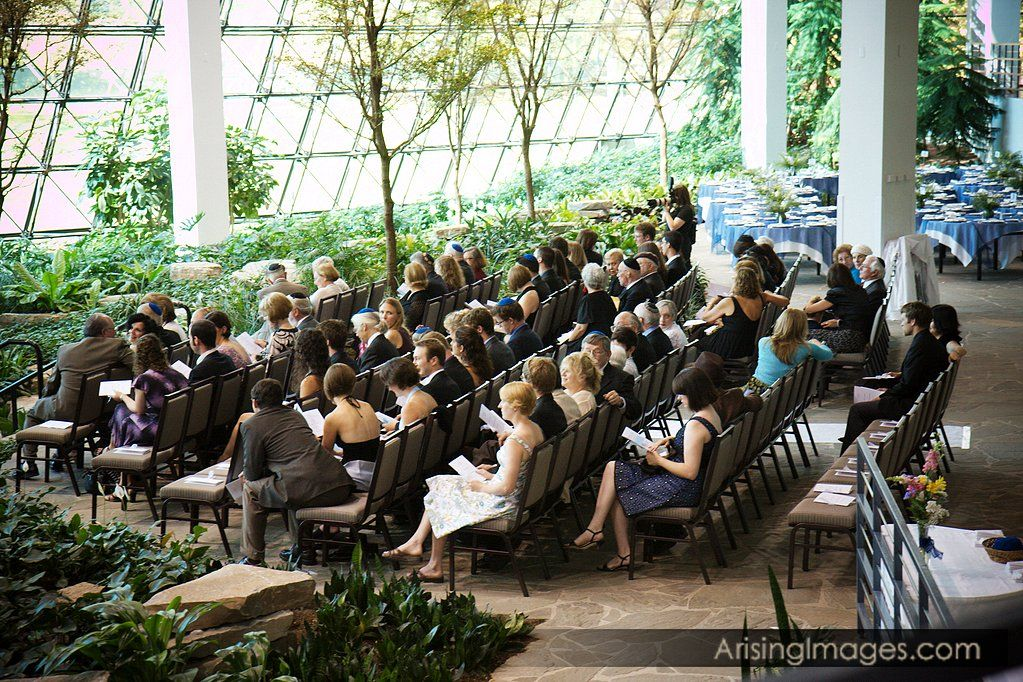 Westin Southfield Detroit- Southfield Town Center Atrium Wedding Ceremony