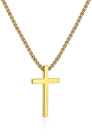 60 Off At 4 39 Using Code 60lao6lr Stainless Steel Cross Pendant Necklaces For Stainless Steel Cross Pendant Black Cross Necklace Cross Pendant Necklace
