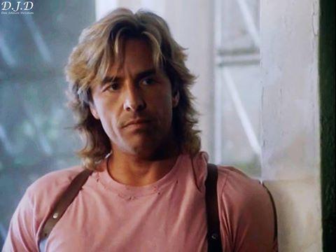 Det Sonny Crockett Long Hair Don Johnson Miami Vice Long Hair Styles Men