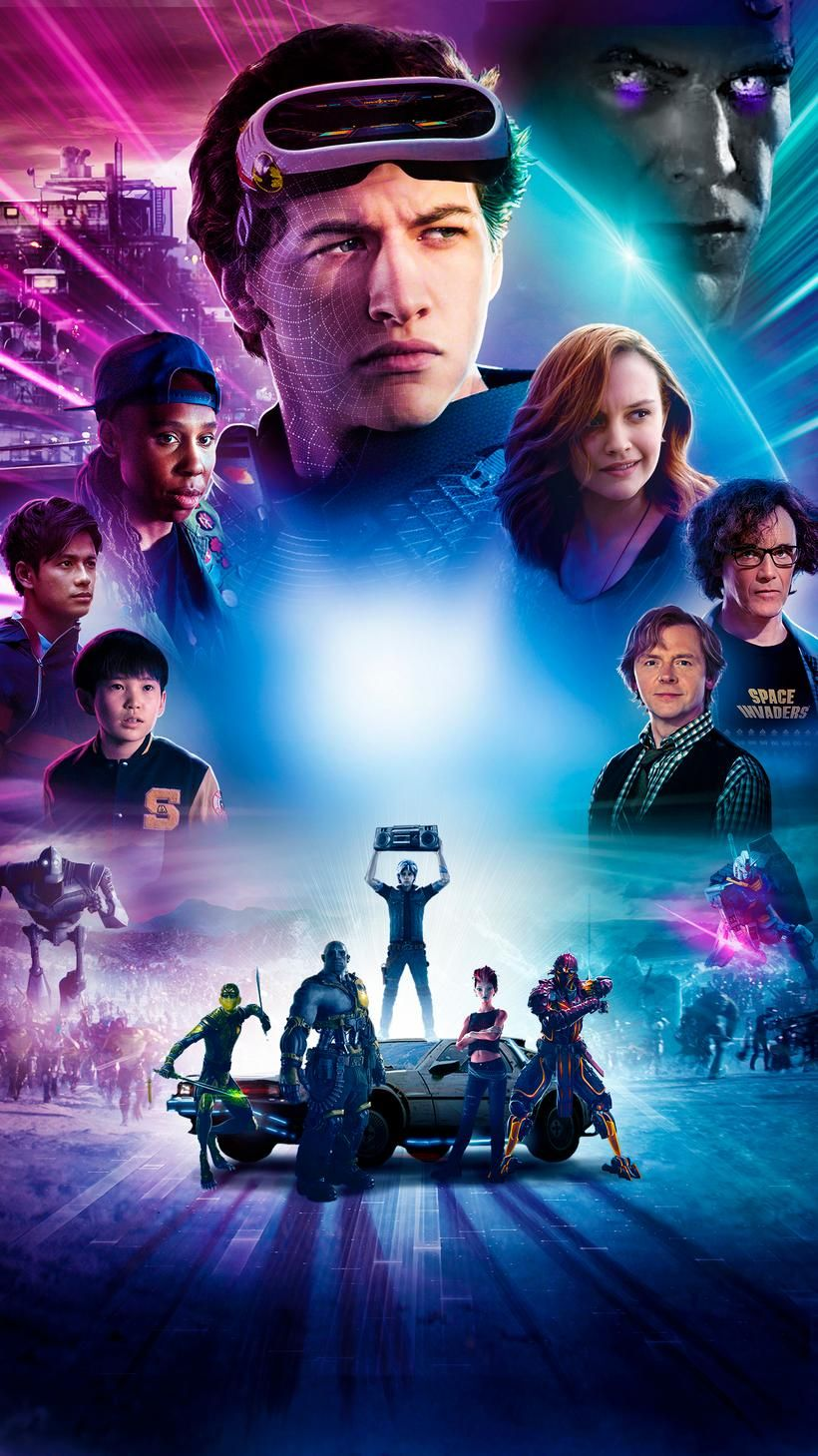 Ready Player One 2018 Phone Wallpaper Moviemania Ready Player One Ready Player One Movie Player One