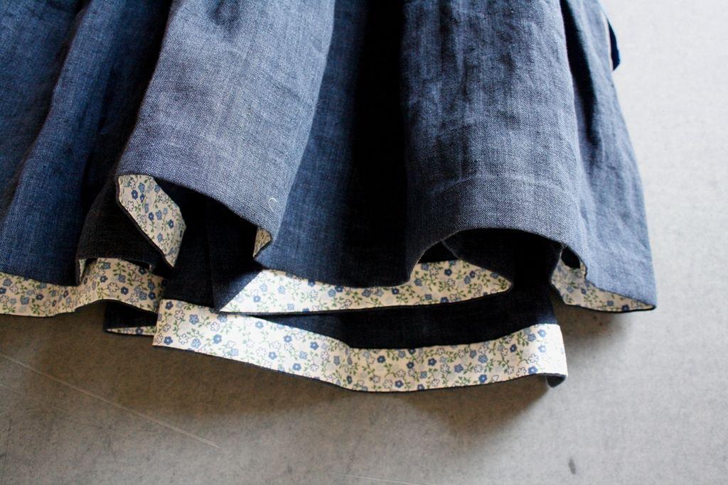 Nei Miei Panni - abito reversibile lino