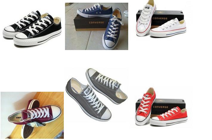 cb96f2b9a4891a bảng màu giày converse và giá