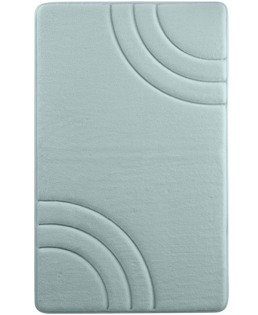"sunham inspire memory foam 17"" x 24"" bath rug | products"