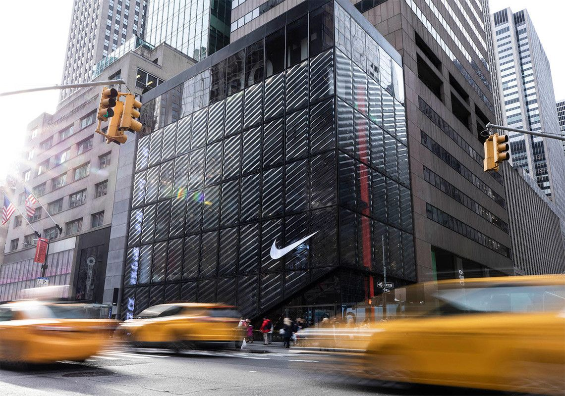 Nike NYC Flagship Store Info Address + Hours Glass