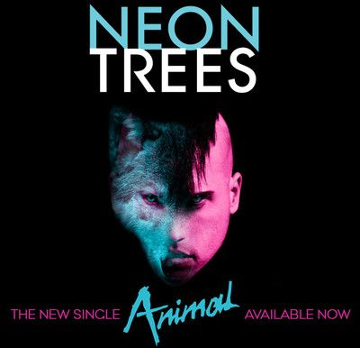 Neon Trees Animal Awesome Music Album Cover Art Pinterest